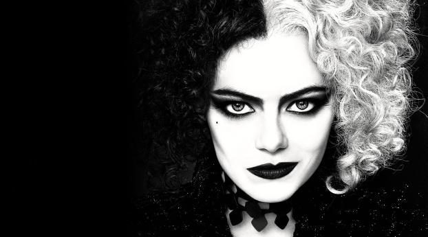 Cruella Movie Emma Stone Wallpaper 2048x1152 Resolution