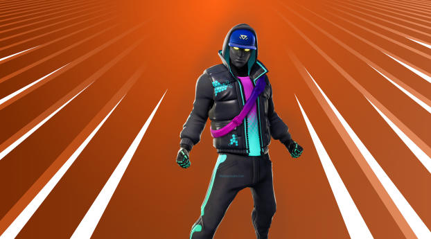 Cryptic Fortnite Wallpaper 1440x900 Resolution