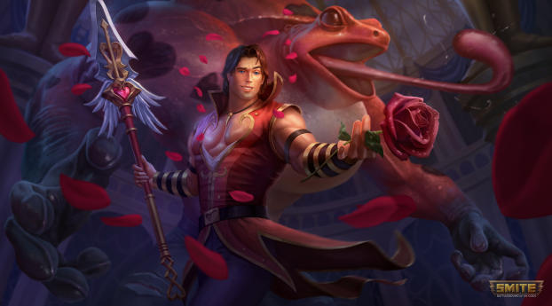 HD Wallpaper | Background Image Cu Chulainn Smite