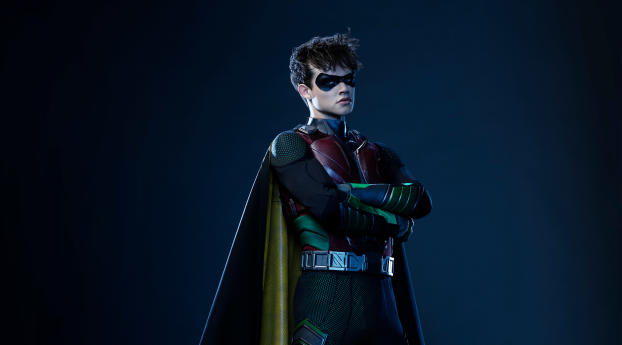 HD Wallpaper | Background Image Curran Walters as Robin