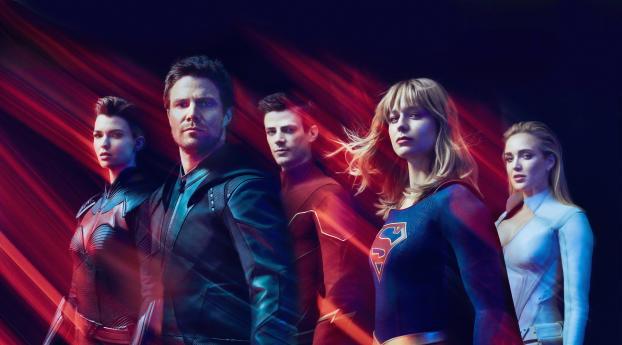 HD Wallpaper | Background Image CW DC Superhero 2019