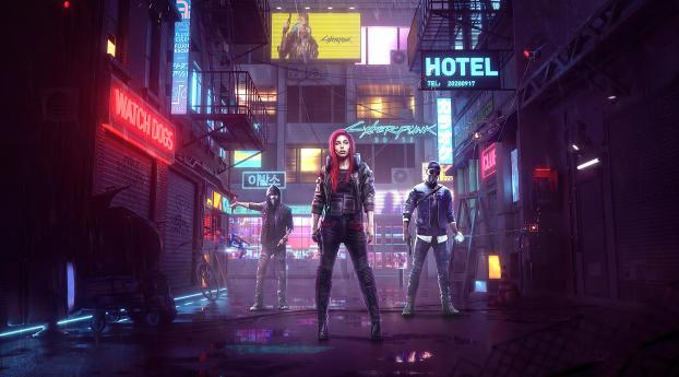 Cyberpunk 2077 Game Poster Wallpaper