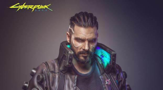 Cyberpunk 2077 Male Cosplay Wallpaper 1080x2160 Resolution