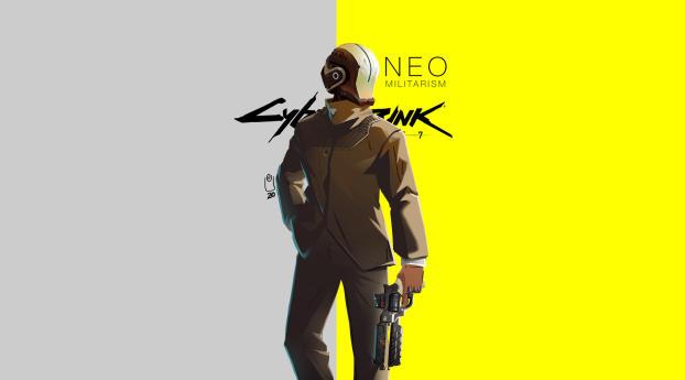 Cyberpunk 2077 - NeoMilitarism Concept Art Wallpaper
