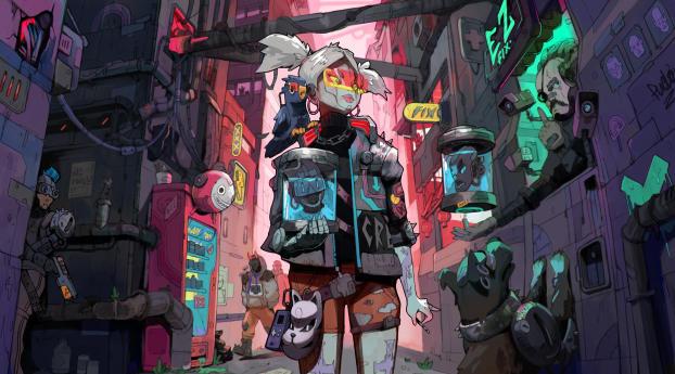Cyberpunk 2077 Night City Illustration Wallpaper