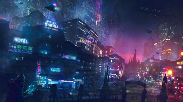 Cyberpunk Artwork Wallpaper
