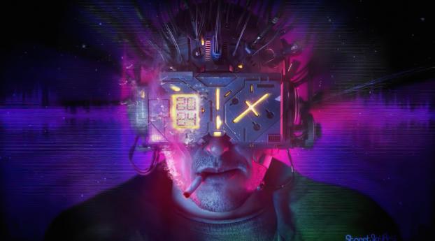 Cyberpunk Cyborg Wallpaper