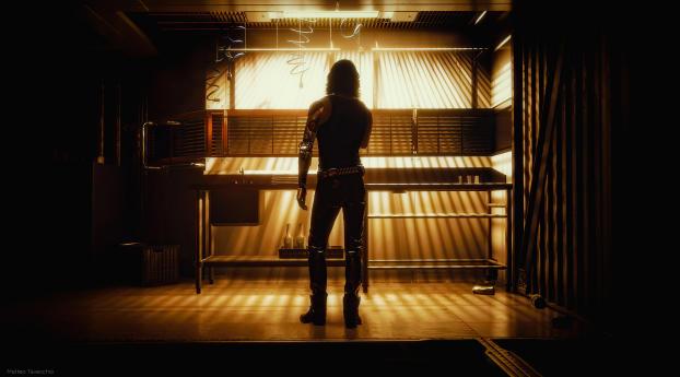 Cyberpunk Johnny Silverhand Cool Wallpaper