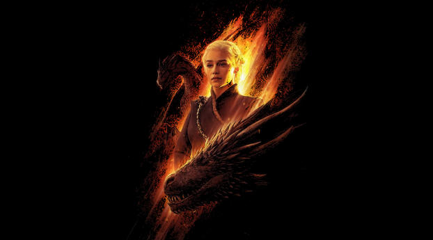 HD Wallpaper | Background Image Daenerys and Dragons