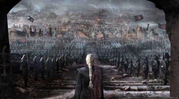 HD Wallpaper | Background Image Daenerys Targaryen Made Queen