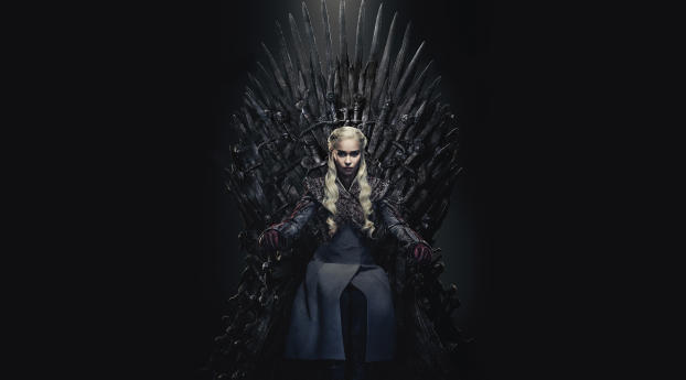 Daenerys Targaryen Queen Of the Ashes in The Iron Throne Wallpaper in 1920x1200 Resolution