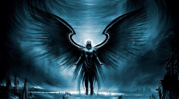 Dark Angel Oscuros Wallpaper 1920x1200 Resolution