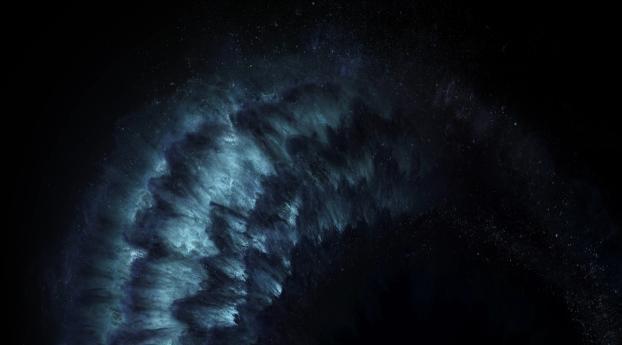 HD Wallpaper | Background Image Dark Explosion