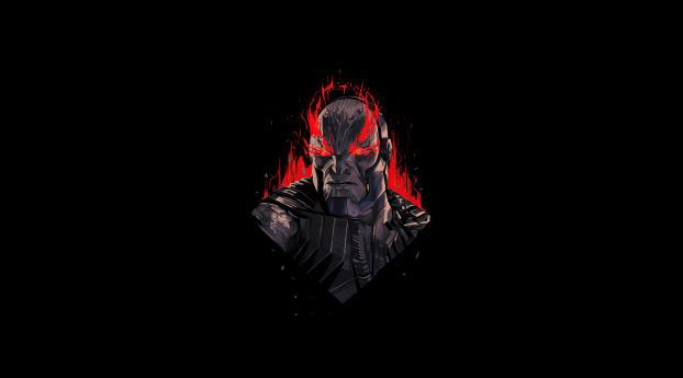 Dark Seid Justice League Minimal Wallpaper