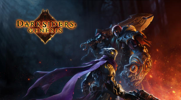 HD Wallpaper   Background Image Darksiders Genesis