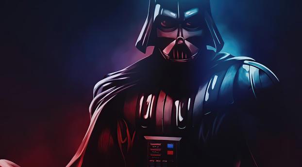 Darth Vader Cool Star Wars Art Wallpaper 1920x1200 Resolution