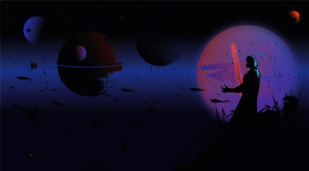 HD Wallpaper | Background Image Darth Vader Digital Art