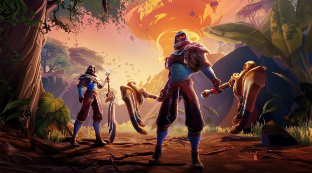 HD Wallpaper | Background Image Dauntless 2020 Game