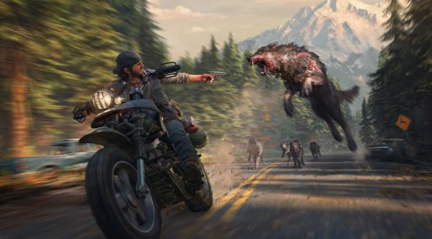 HD Wallpaper | Background Image Days Gone 2019