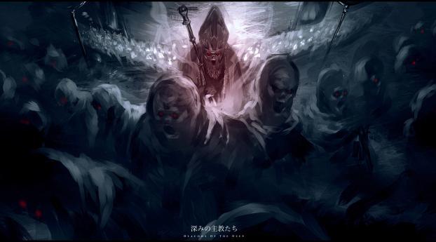 Deacons of The Deep Dark Souls 3 Wallpaper