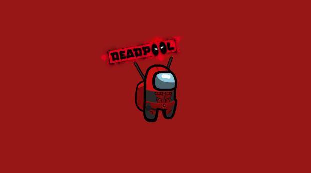 Deadpool Among Us Minimal Wallpaper