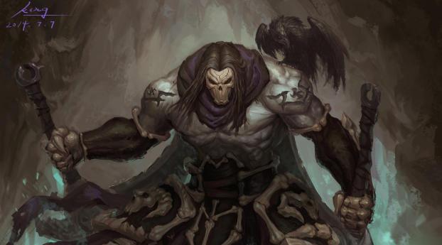 HD Wallpaper | Background Image Death In Darksiders 2
