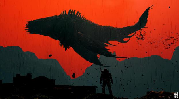 Death Stranding Art Gaming Wallpaper
