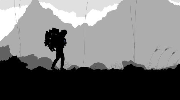 Death Stranding FanArt 4K Wallpaper, HD Artist 4K ...
