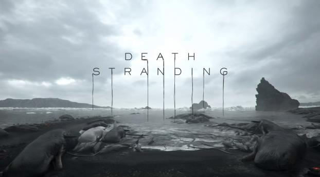 HD Wallpaper | Background Image Death Stranding Logo