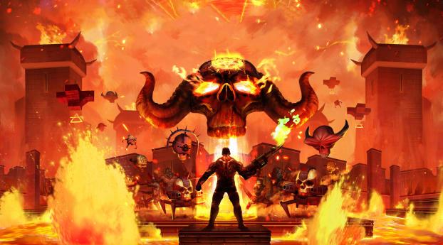 HD Wallpaper | Background Image Demon Pit Game