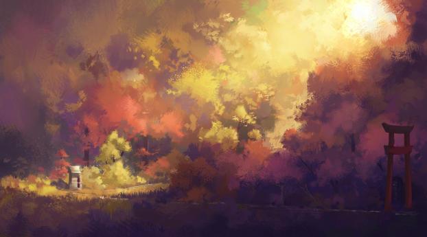 HD Wallpaper | Background Image Descending Gates