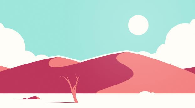 HD Wallpaper | Background Image Desert Art