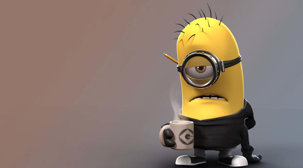 HD Wallpaper | Background Image Despicable Me Angry Minion