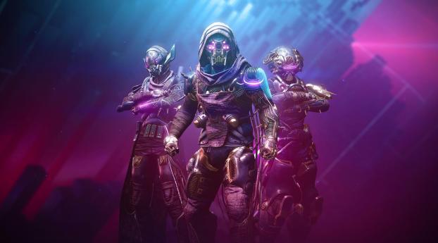 Destiny 2 Trinity Warriors Wallpaper 320x240 Resolution