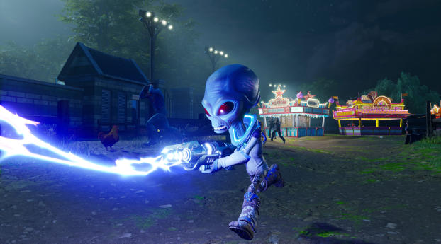 Destroy All Humans 2020 Wallpaper in 480x854 Resolution