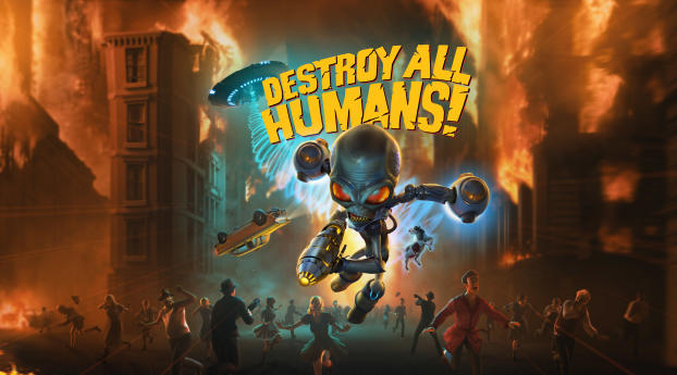 HD Wallpaper | Background Image Destroy All Humans Game