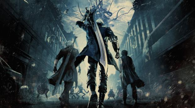 1125x2436 Devil May Cry 5 4k Iphone Xsiphone 10iphone X
