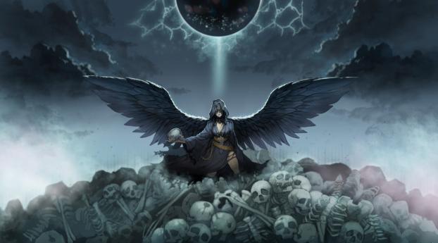 HD Wallpaper | Background Image Devils Angel