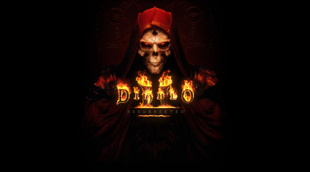 Diablo 2 Resurrected Wallpaper in 2048x2048 Resolution