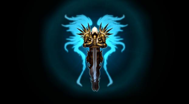 Diablo 3, Tyrael, Wings, Full HD 2K Wallpaper