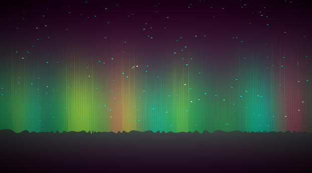 HD Wallpaper | Background Image Dim Glowing Lights