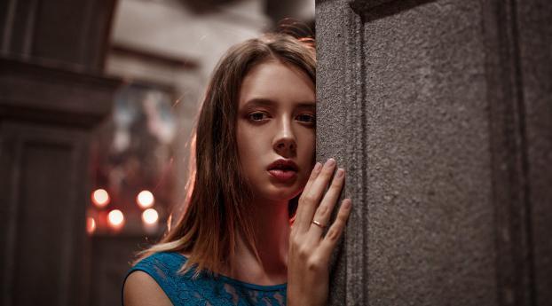 Disha Shemetova Model Portrait Wallpaper 1125x2436 Resolution