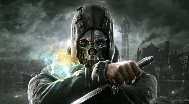 HD Wallpaper   Background Image Dishonored Fighter