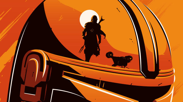 HD Wallpaper   Background Image Disney The Mandalorian