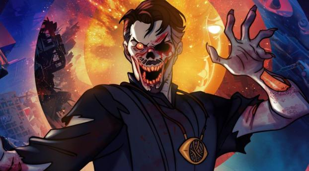 Doctor Strange Zombie What If Wallpaper