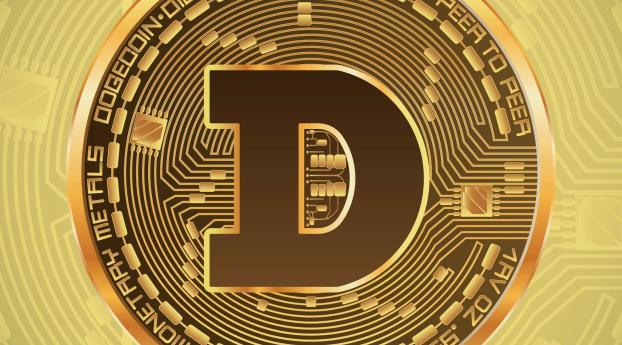 Dogecoin Currency Wallpaper 1080x2280 Resolution