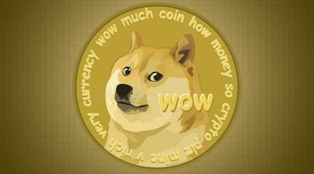 Dogecoin Money Wallpaper 2048x1152 Resolution