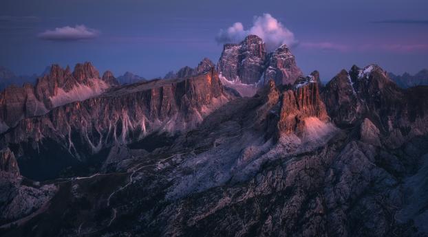 Dolomites Italy Mountains Wallpaper