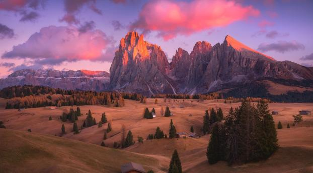 HD Wallpaper | Background Image Dolomites Mountains