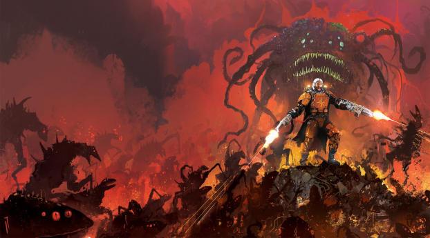 Doom Game Art Wallpaper